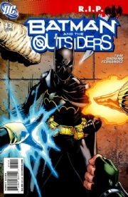 Batman And The Outsiders #13 R.I.P. (2008) DC comic book